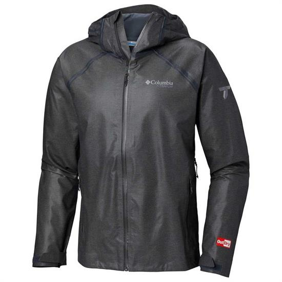 Columbia Outdry Ex Reign Jacket - Charcoal Heather