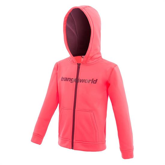 Trangoworld Oby Jacket - Fluor Coral/Vino