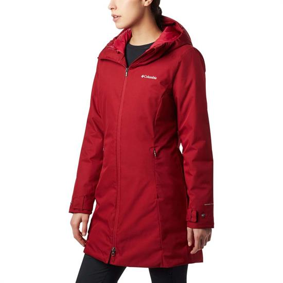 Columbia Autumn Rise Mid Jacket - Beet