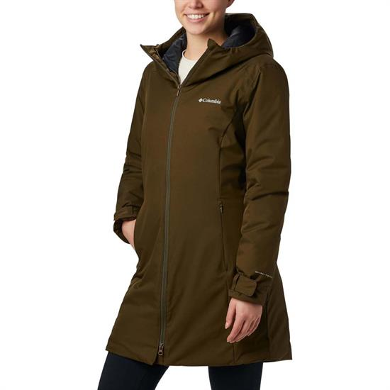 Columbia Autumn Rise Mid Jacket W - Olive Green