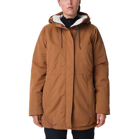 Columbia South Canyon Sherpa Lined Jacket - Camel Brown