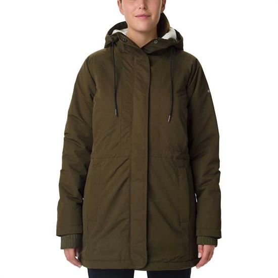 Columbia South Canyon Sherpa Lined Jacket W - Olive Green