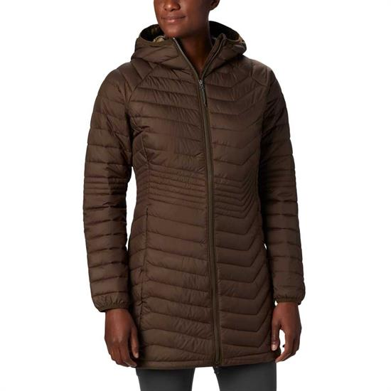 Columbia Powder Lite Mid Jacket W - Olive Green