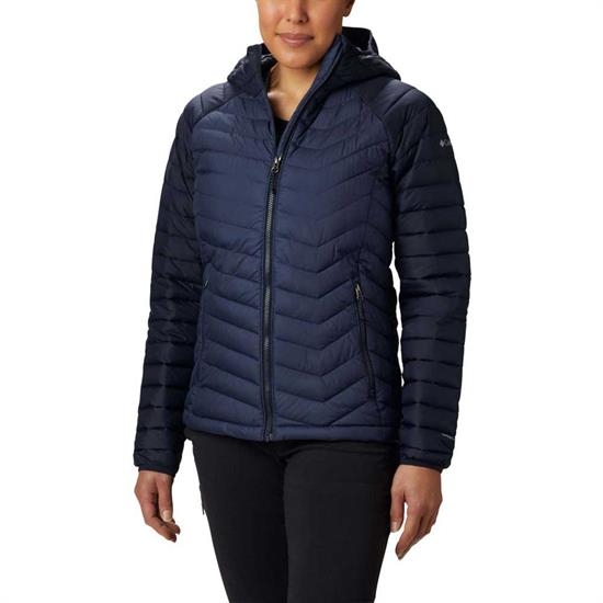 Columbia Powder Lite Hooded Jacket W - Nocturnal