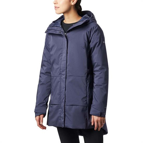 Columbia Autumn Rise Trench Jacket W - Nocturnal Heather