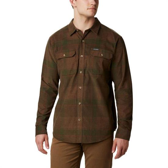 Columbia Flare Gun Corduroy Shirt - Green Large