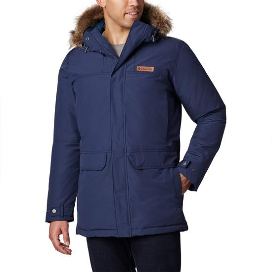 Columbia Marquam Peak Parka - Collegiate Navy