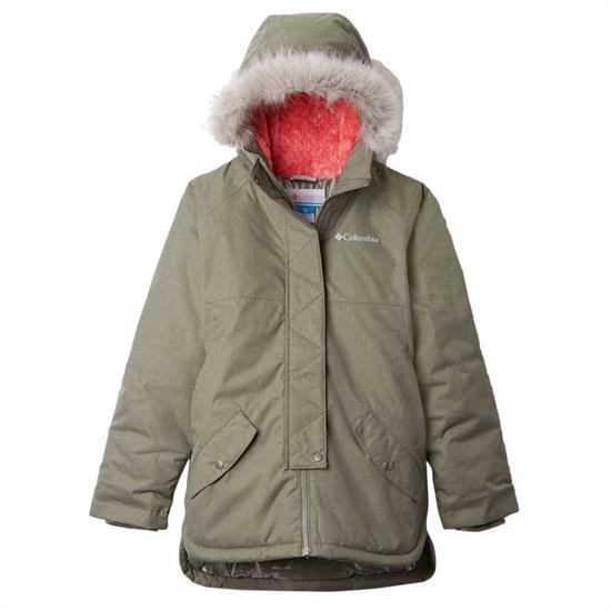 Columbia Carson Pass Mid Jacket Girl - Cypress Heather