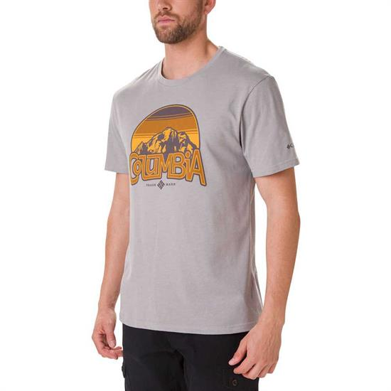 Columbia Basin Butte Ss Graphic Tee - Columbia Grey