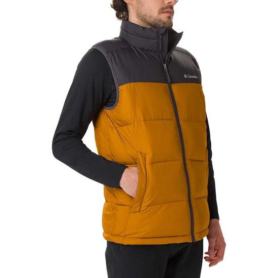 Columbia Pike Lake Vest - Burnished Amber/Shark