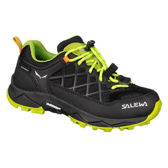 Salewa Jr Wildfire Wp - Black Out/Cactus