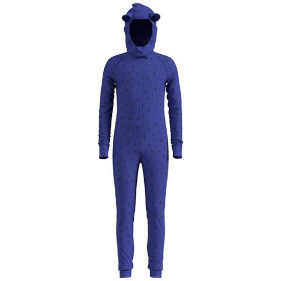 Odlo One Piece Suit Active Warm - Clematis Blue