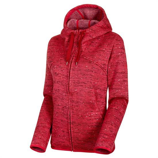 Mammut Chamuera Ml Hooded Jacket W - Pink