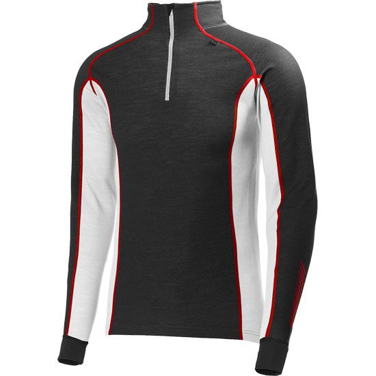 Helly Hansen HH Warm Freeze 1/2 Zip - Ebony/White