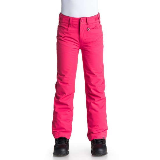 Roxy Backyard Girl Pant - Azalea Solid