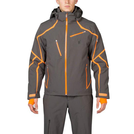 Spyder Esper Jacket - Grey/Orange