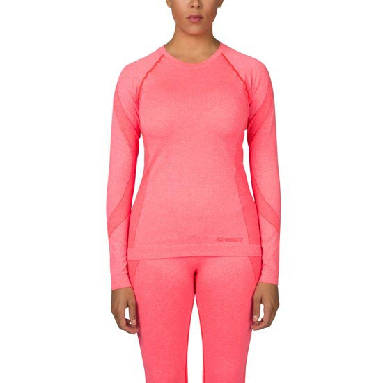 Spyder Runner (Boxed) L/S Top W - Bryte Pink