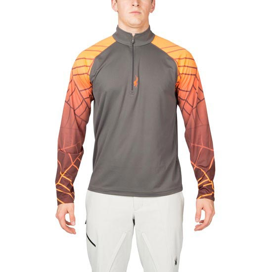 Spyder Linear Web Dry W.E.B. - Polar/Bryte Orange