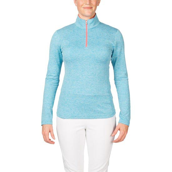 Spyder Cameo Therma Stretch T-Neck W - Riviera/Bryte Pink