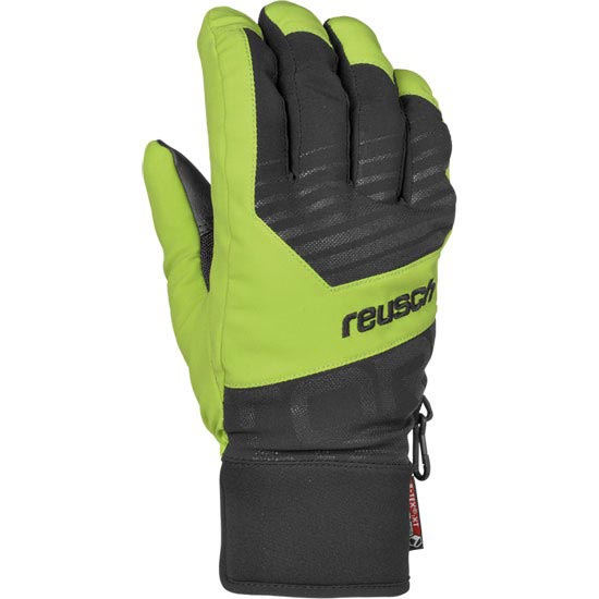 Reusch Torbenius R-TEX XT Jr - Black/Neon Green