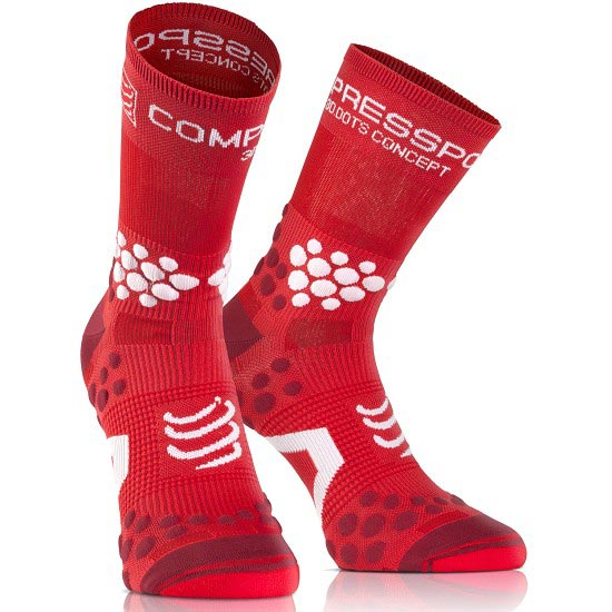 Compressport Racing Socks V2.1 Trail HI - Red