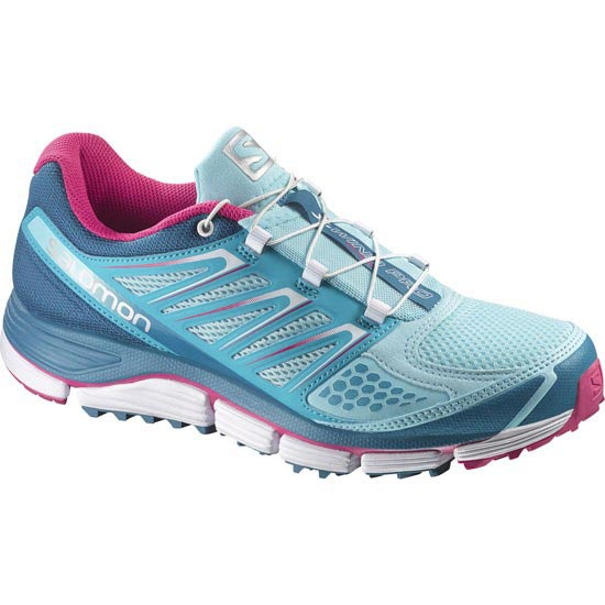 Salomon X-Wind Pro W - Air/Boss Blue/Hot Pink