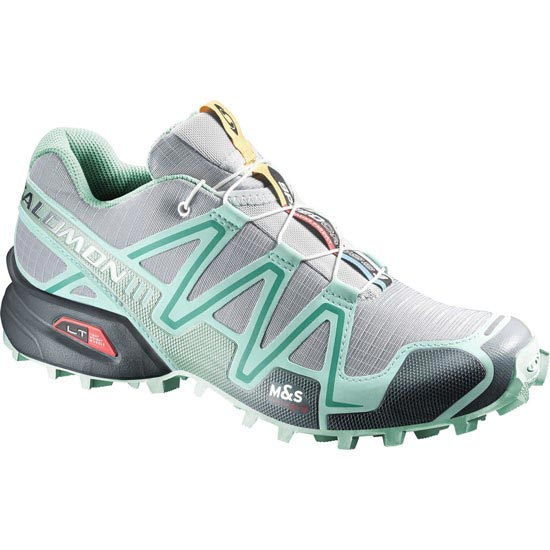 Salomon Speedcross 3 W - Light Onix/Topaz Blue/Dark Cloud