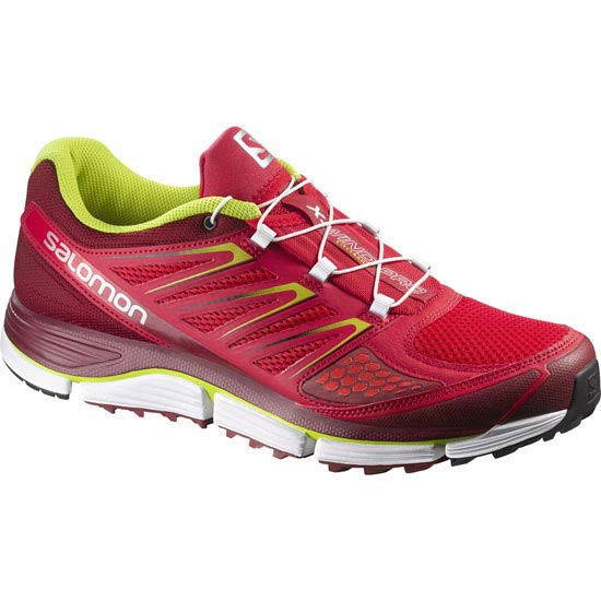Salomon X-Wind Pro - Bright Red/Flea/Gecko Green