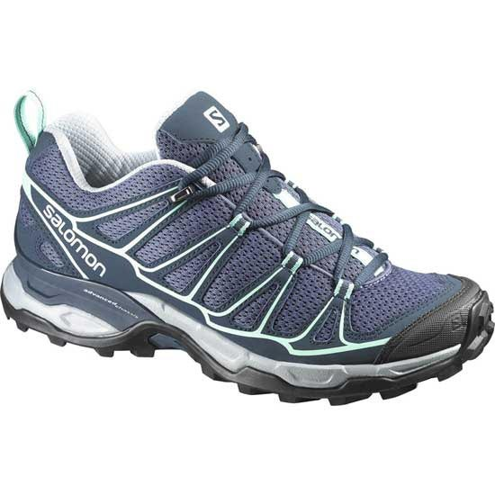 Salomon X Ultra Prime W - Artist Grey-X/Deep Blue/Lucite Green