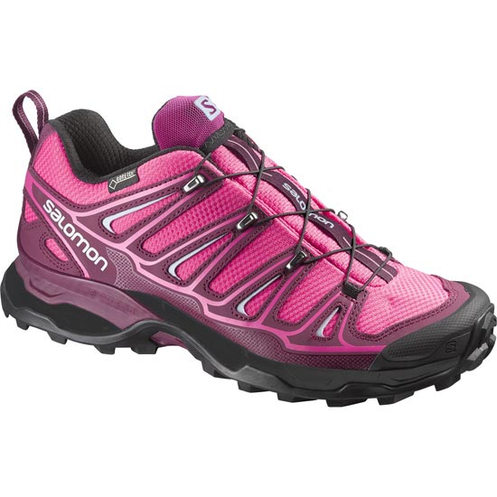 Salomon X Ultra 2 Gtx W - Hot Pink/Bordeaux/Pebble Blue