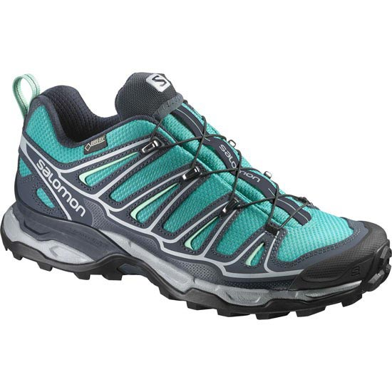 Salomon X Ultra 2 Gtx W - Peacock Blue/Deep Blue/Lucite Green