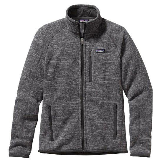 Patagonia Better Sweater Jkt - Nickel w/Forge Grey