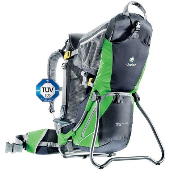 Deuter Kid Comfort Air - Graphite/Spring