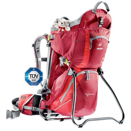 Deuter Kid Comfort II - Cranberry/Fire