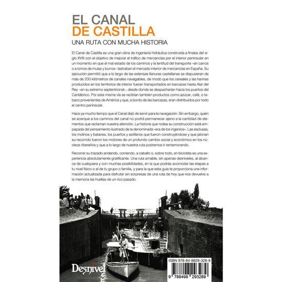 Ed. Desnivel El canal de Castilla - Photo of detail