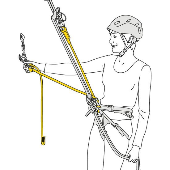 Petzl Dual Connect Adjust - Photo of detail