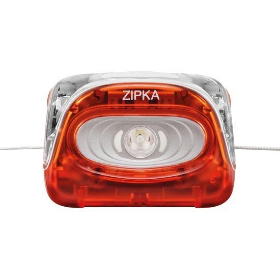 Petzl Zipka 100 lumens - Photo de détail