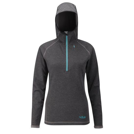 Rab Nucleus Hoody W - Anthracite