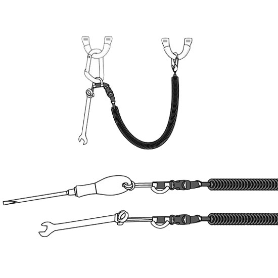 Beal Air Leash 18-133cm - Detail Foto
