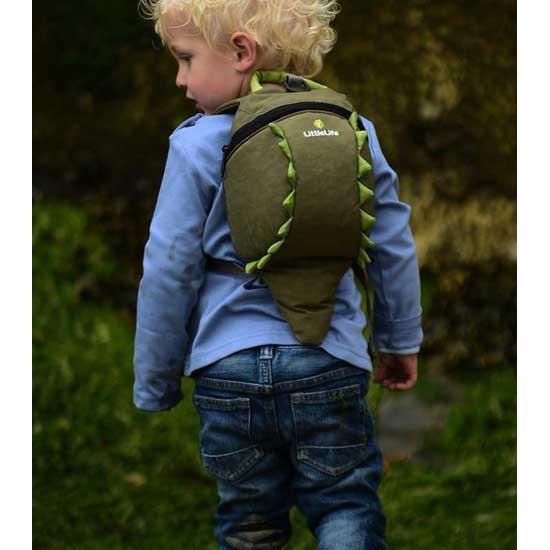 Littlelife Crocodile Toddler Daysack - Detail Foto