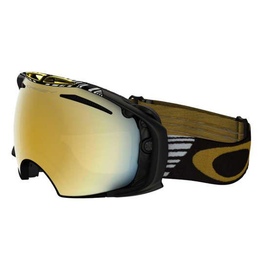 Oakley Airbrake Sw Black Gold - 24k Iridium + P - Black Gold