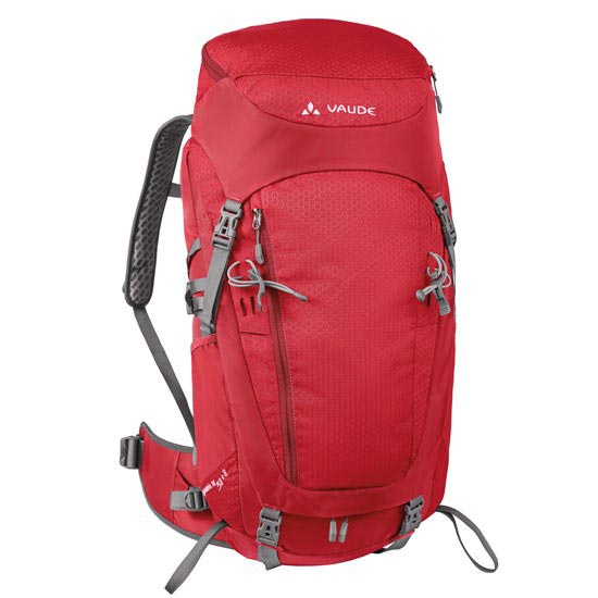 Vaude Asymetric 38+8 W - Red