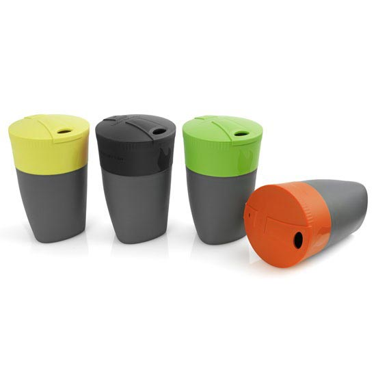 Light My Fire Pack Up Cup 4 Pack - Lima/Black/Green/Orange
