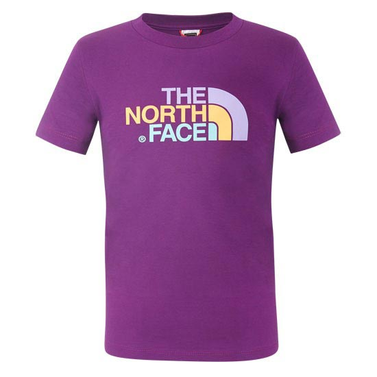The North Face S/S Easy Tee Y - Iris Purple
