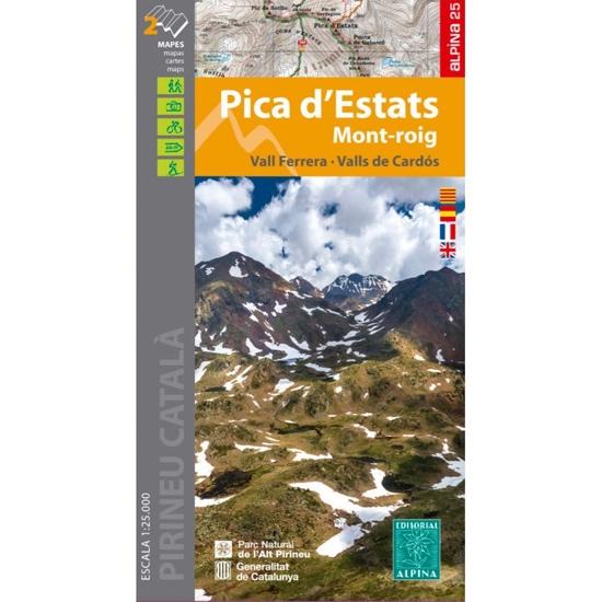 Ed. Alpina Mapa Pica D'Estats -