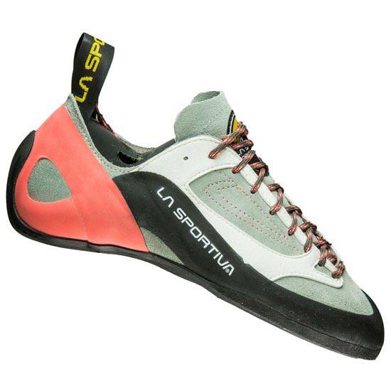 La Sportiva Finale VS W Zapatos de escalada 37,0 grey/coral