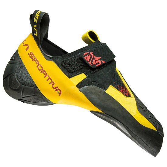 La Sportiva Skwama - Black/Yellow