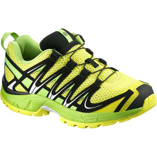 Salomon Xa Pro 3D Jr - Yellow/Granny Green/Black