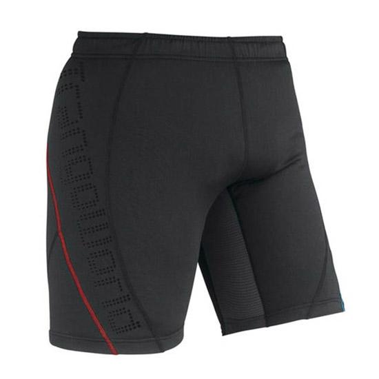 Trangoworld Golm Short - Negro/Rojo