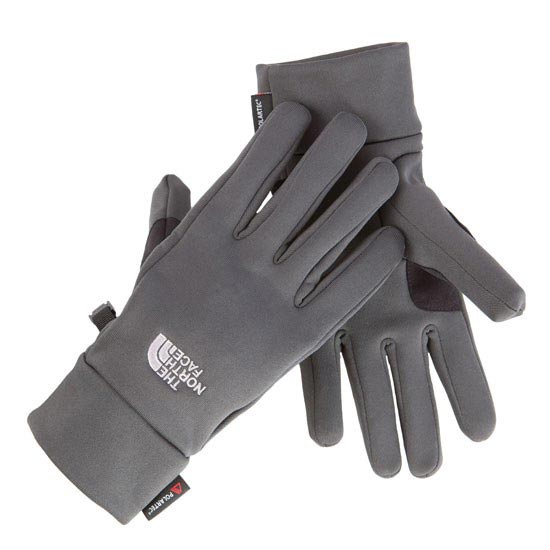 The North Face Power Stretch Glove - Asphalt Grey